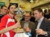 09.01.2011 4. Andre Hanusch Cup in Kamenz  Siegerehrung  Turniersieger SV Einheit Kamenz   Foto: Werner Müller